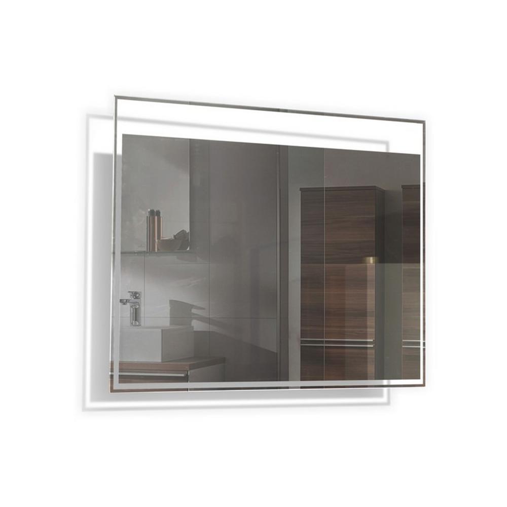 TONA 24 in. L x 32 in. W Contemporary Modern Wall LED Mirror
