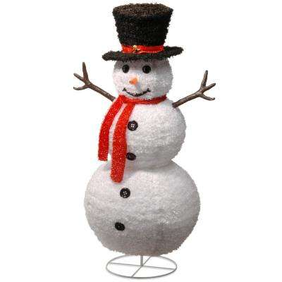 48 in. Pop-Up Snowman