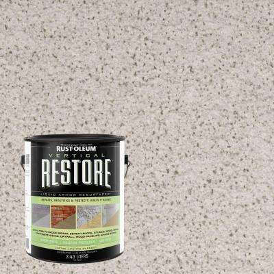 4 gal. Canvas Vertical Liquid Armor Resurfacer for Walls and Siding