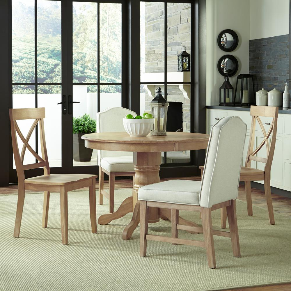 Charmant Home Styles Classic 5 Piece White Wash Dining Set
