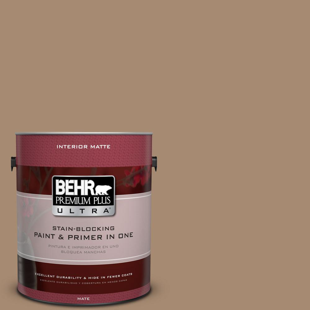 BEHR Premium Plus Ultra 1 gal. #N260-5 Distant Land Matte Interior Paint