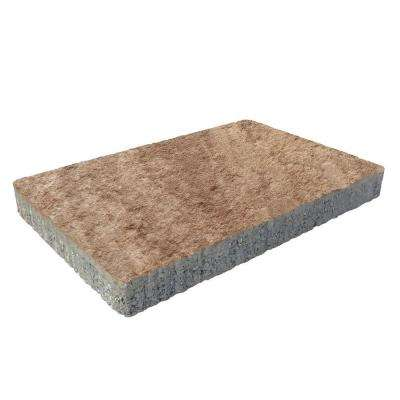 Capriana 3-pc 14 in. x 14 in. x 2 in. Mocha Concrete Paver (72 Pcs. / 98 Sq. ft. / Pallet)
