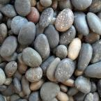 0.50 cu. ft. Mixed Mexican Beach Pebble 40 lb. Bag Unpolished 5/8 in. - 7/8 in. (20-Pack Pallet)