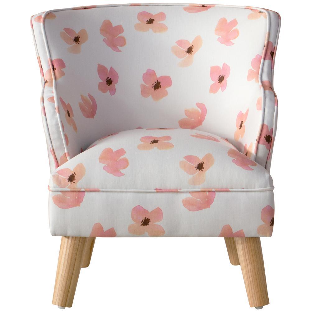 Fabulous Skyline Furniture Floating Petals Pink Kids Modern Chair 96 Creativecarmelina Interior Chair Design Creativecarmelinacom