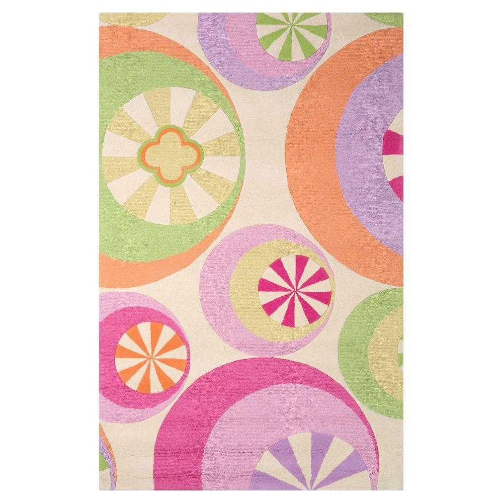 Kas Rugs Party Favors Pastel 5 ft. x 7 ft. 6 in. Area Rug
