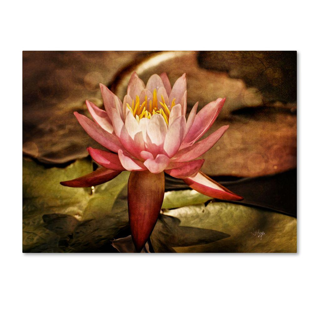 14 in. x 19 in. Magic Lily Canvas Art