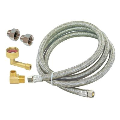 12 ft. Braided Stainless Steel Dishwasher Supply Line
