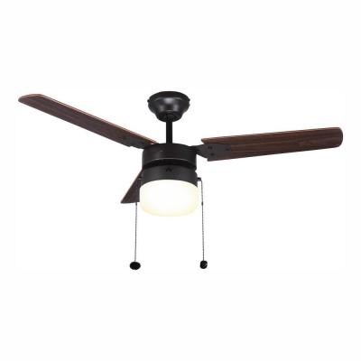 Montgomery 42 in. LED Indoor Oil Rubbed Bronze Ceiling Fan with Light Kit