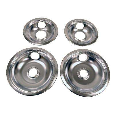 Drip Pan Kit in Chrome