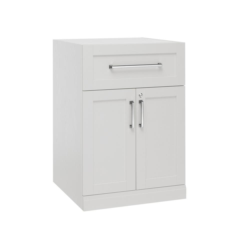 2 Door With Drawer Cabinet