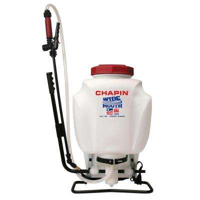 4 Gal. Wide Mouth Backpack Sprayer