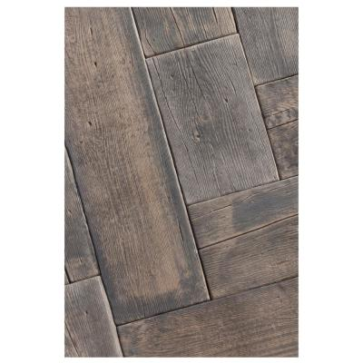 Barn Plank 35 in. x 9.75 in. x 2 in. Mahogany Concrete Paver (20-Piece/47.40 sq. ft./Pallet)