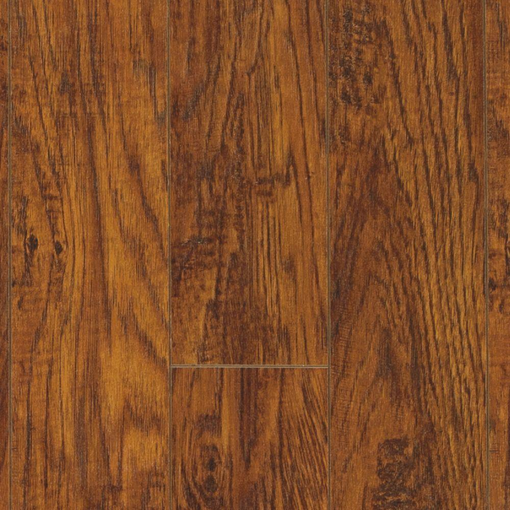Pergo XP Highland hickory 10 mm Thick x 4-7/8 in. Wide x 47-7/8 in. Length Laminate Flooring (393 sq. ft. / pallet)