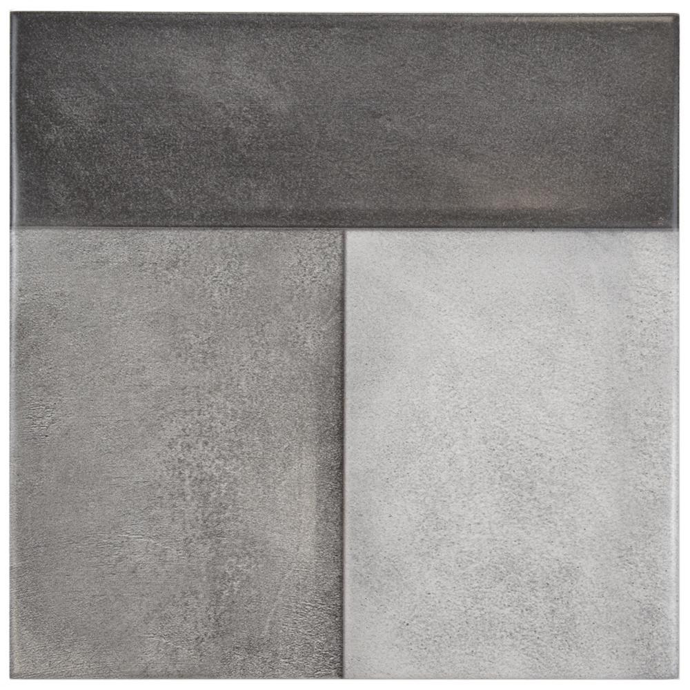 Merola Tile Magna Urban Cement 8 In X Ceramic Wall