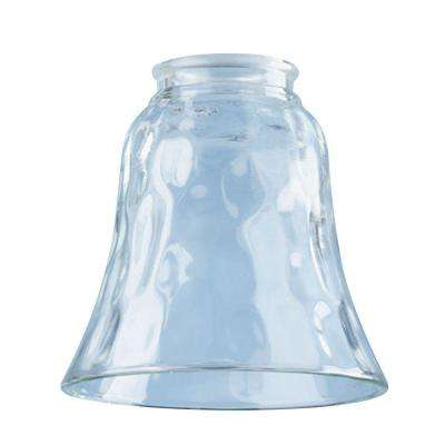 4-3/4 in. Beveled Clear Bell with 2-1/4 in. Fitter and 4-7/8 in. Width
