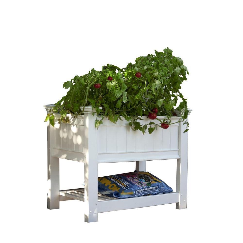 Cambridge Raised Garden Planter Va68211 The Home Depot