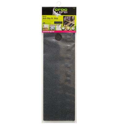 19.7 in. x 5.9 in. Roll Commercial High Grit XL Step Anti-Slip Tape, Black Tread, Safety for Stairs and Walkways