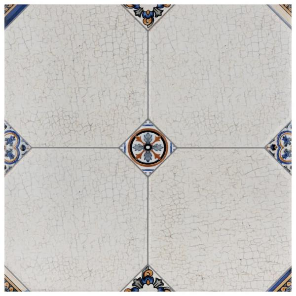 Manises Jet Blanco 13-1/8 in. x 13-1/8 in. Ceramic Floor and Wall Tile (11.18 sq. ft. / case)