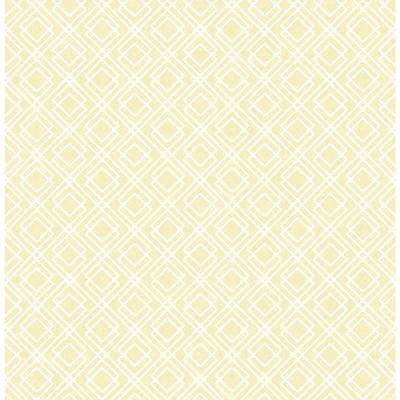 Straight Across Chesapeake Yellow Wallpaper Home Decor The