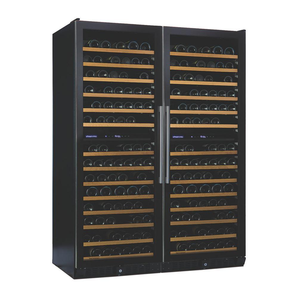 N'FINITY PRO Double 52 in. LX 374-Bottle Freestanding Wine Cellar