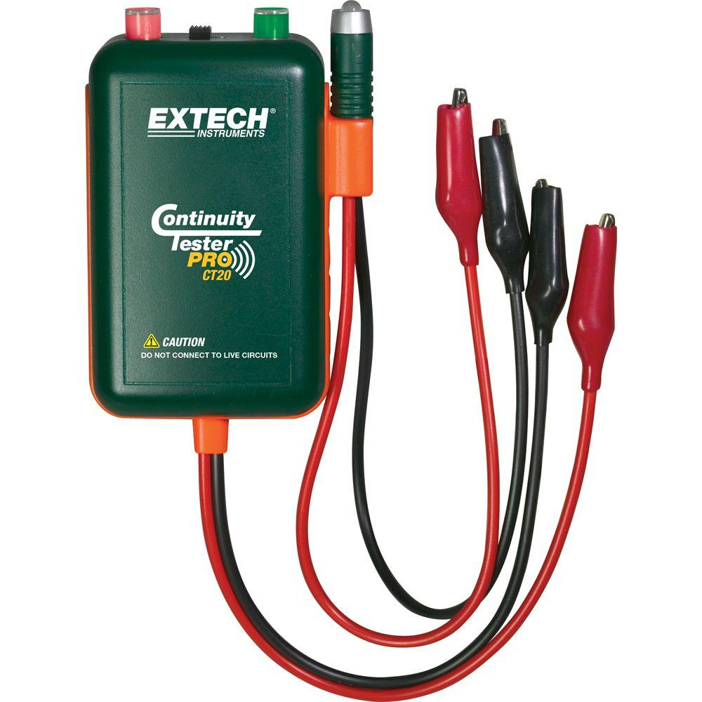 Fine Extech Instruments Remote And Local Continuity Tester Ct20 The Wiring Digital Resources Cettecompassionincorg