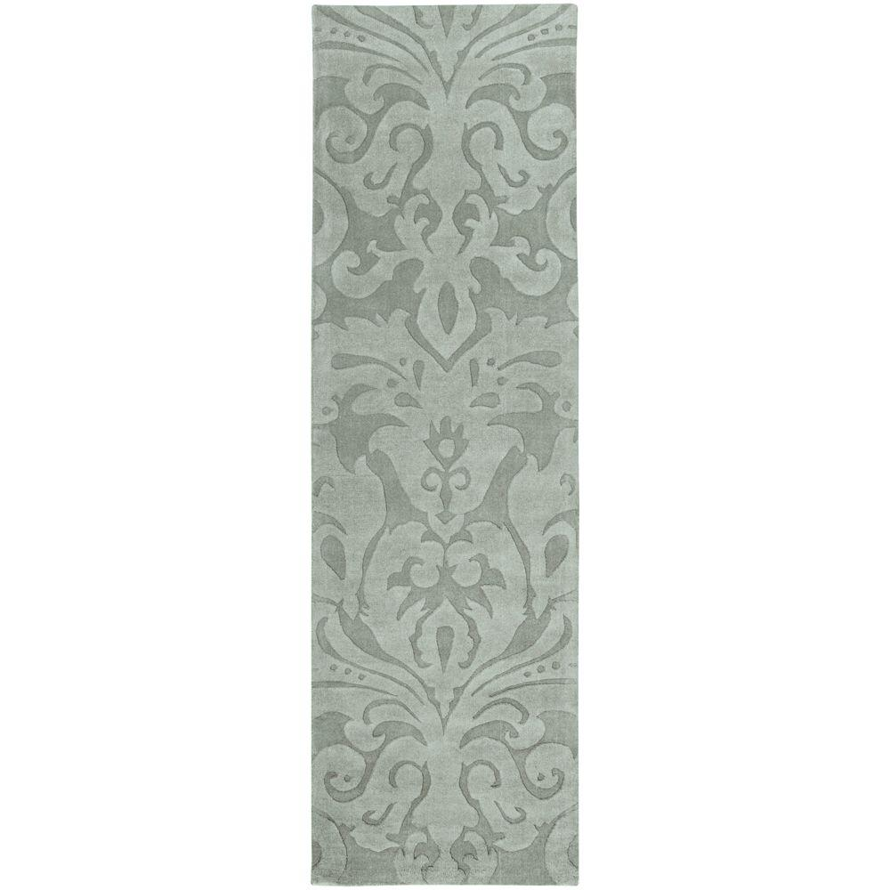 Surya Candice Olson Light Blue 2 ft. 6 in. x 8 ft. Rug Runner
