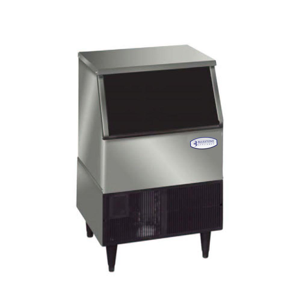 Bluestone Appliance 24 in. 260 lb. Commercial Icemaker in Stainless Steel-DISCONTINUED