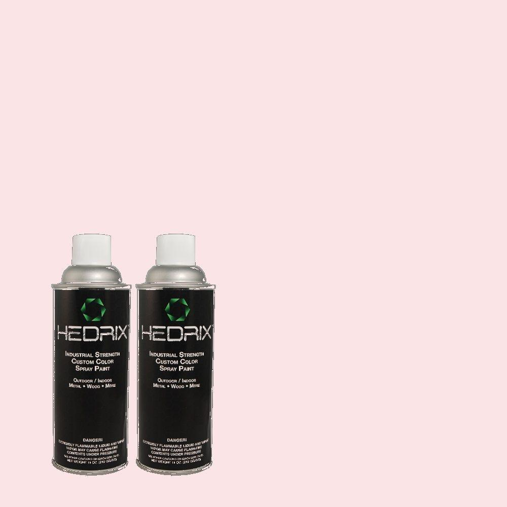 Hedrix 11 oz. Match of 110A-2 Poetic Princess Semi-Gloss Custom Spray Paint (2-Pack)