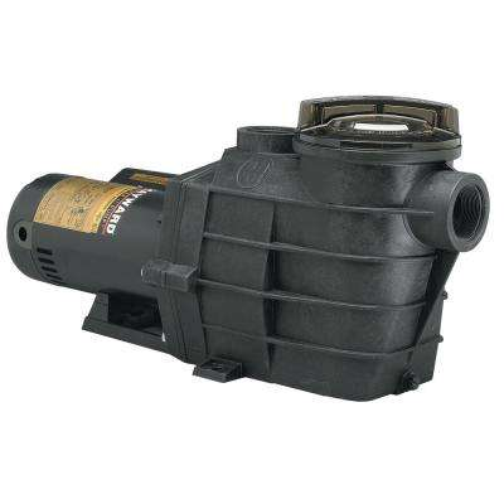 1½ HP 115-Volt to 230-Volt 2 in. Plumbing Super II Inground Single Speed  Pool Pump