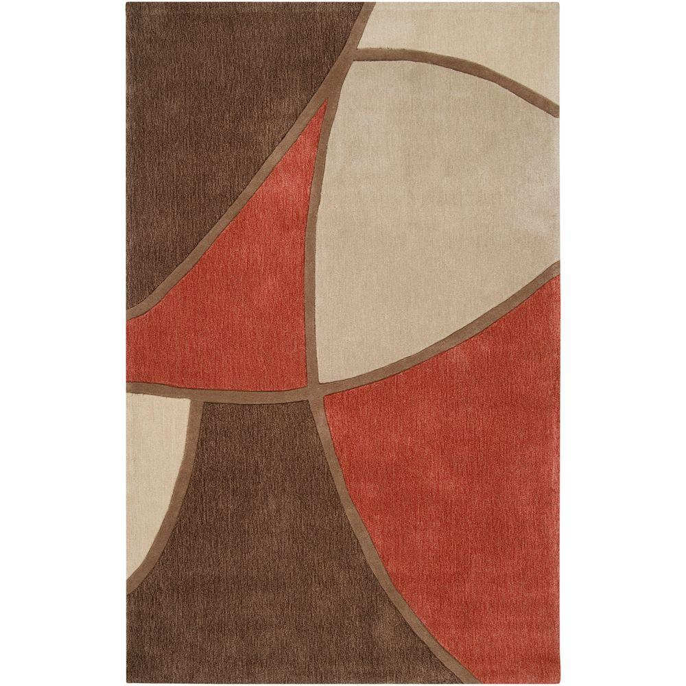 Artistic Weavers Carter Brown 5 ft. x 8 ft. Area Rug