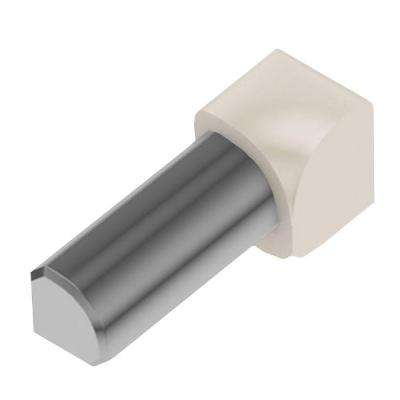 Rondec Sand Pebble Color-Coated Aluminum 3/8 in. x 1 in. Metal 90 Degree Inside Corner