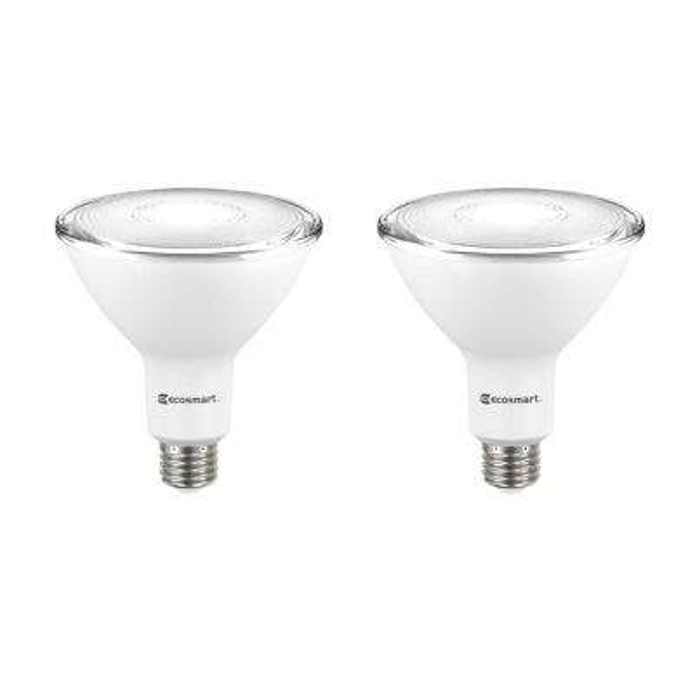 120-Watt Equivalent PAR38 Dimmable LED Flood Light Bulb, Daylight (2-Pack)