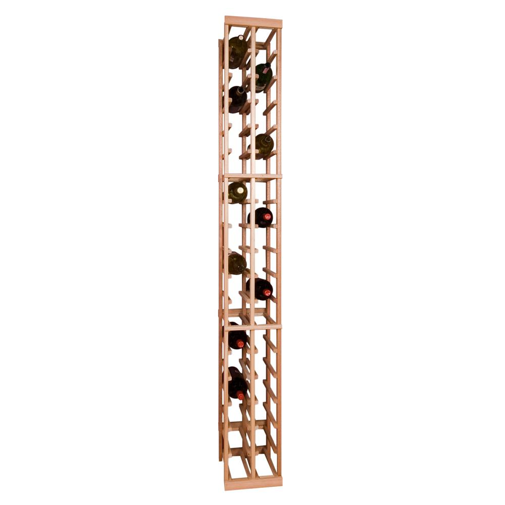 Vinotemp magnum 36 bottle pine floor wine rack chp mag 7 for Floor wine rack