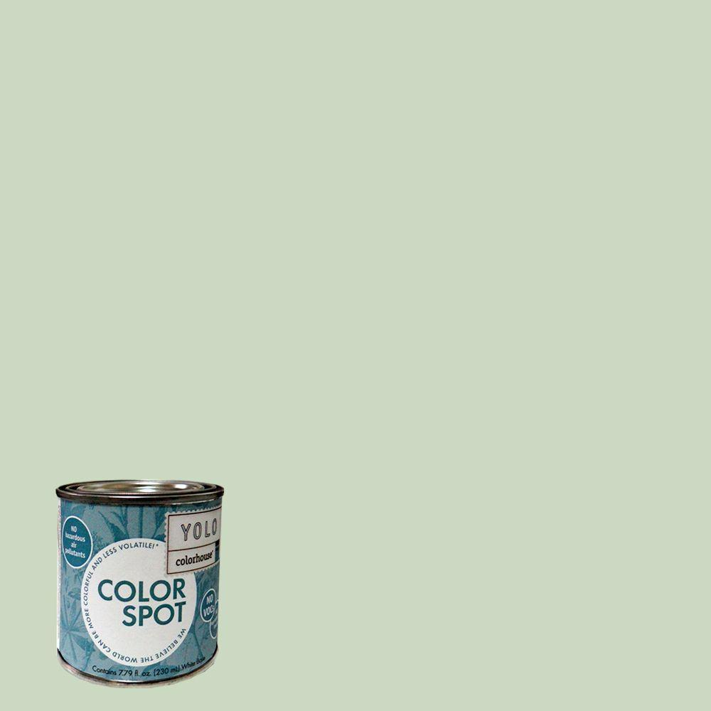 YOLO Colorhouse 8 oz. Leaf .06 ColorSpot Eggshell Interior Paint Sample-DISCONTINUED