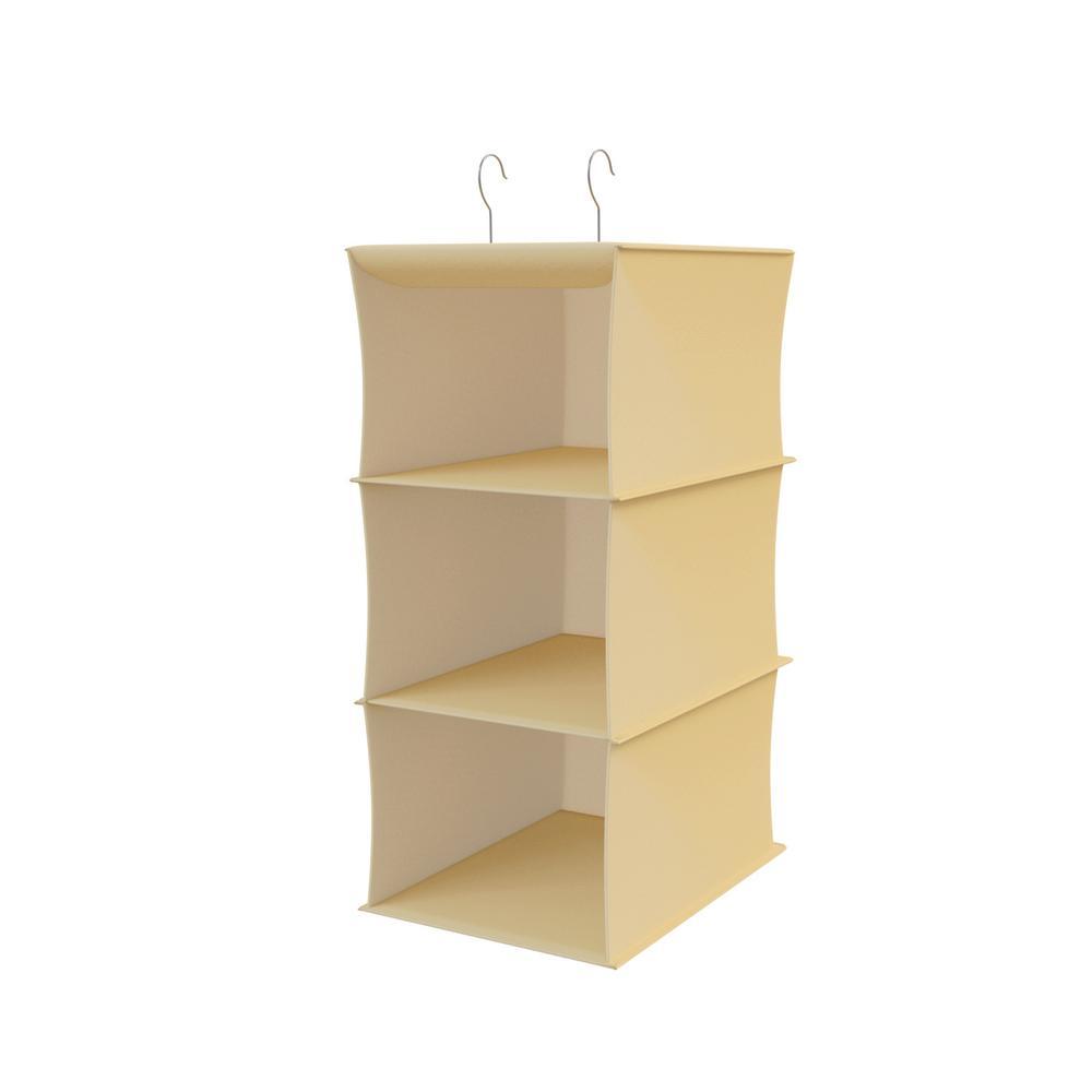 Lavish Home Closet 3 Deep Shelf Storage Organizer