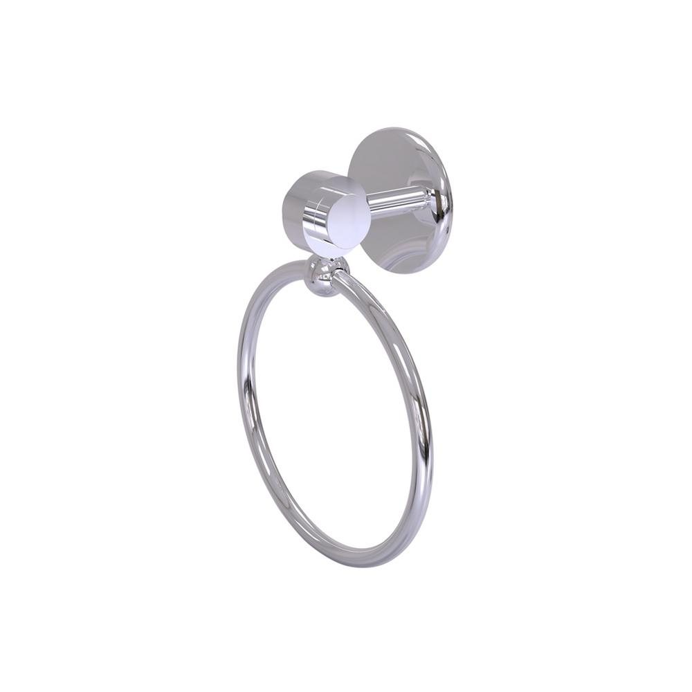Allied Brass Satellite Orbit 2 Collection Towel Ring in Polished Chrome