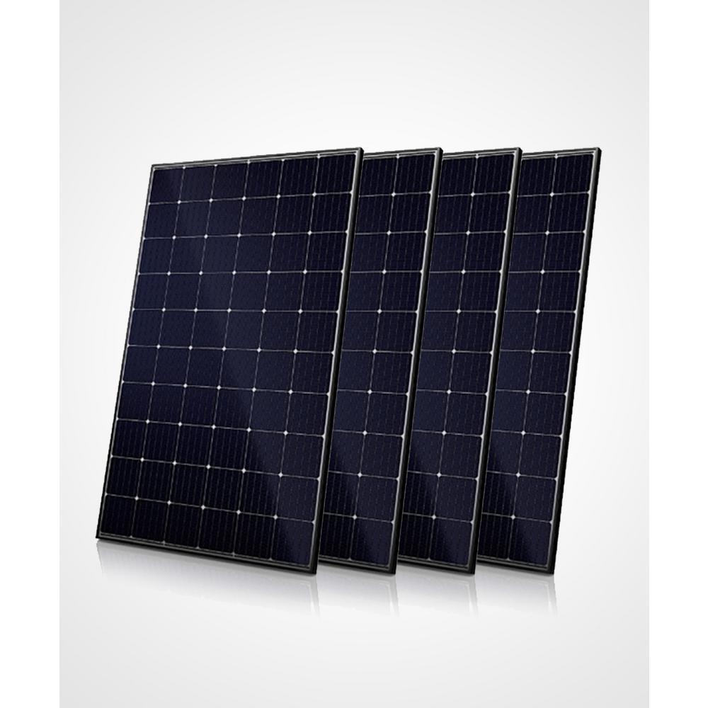 Live Solar 300 Watt Monocrystalline Solar Panels 4 Pack
