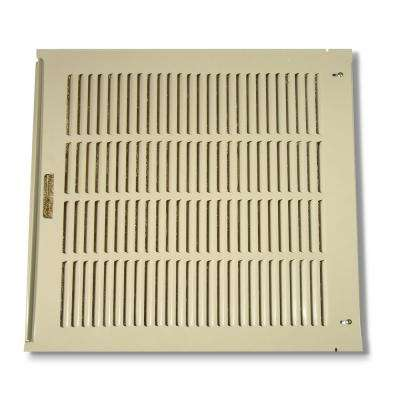 26-7/8 in. x 24-21/32 in. Louvered Back Assembly for RN35W and RWC35