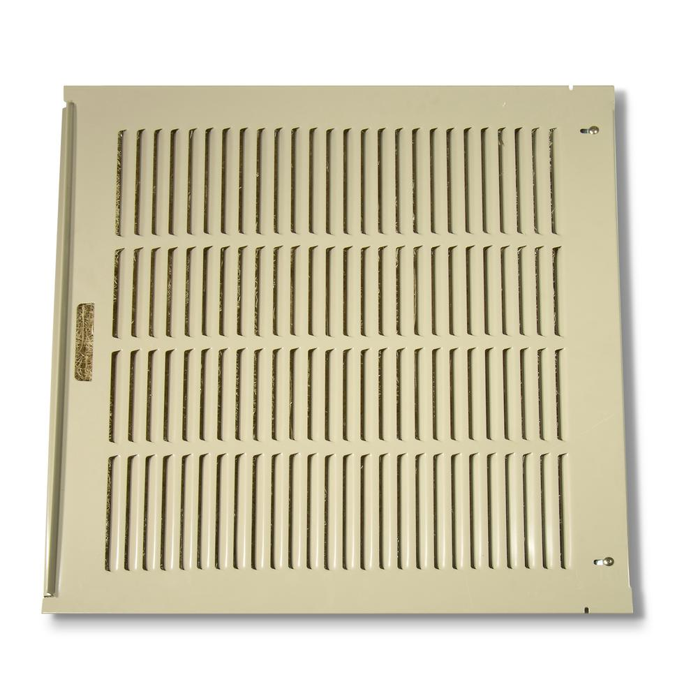 26-7/8 in. x 24-21/32 in. Louvered Back Assembly for RN35W and