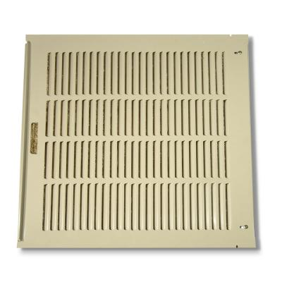 26-7/8 in  x 24-21/32 in  louvered