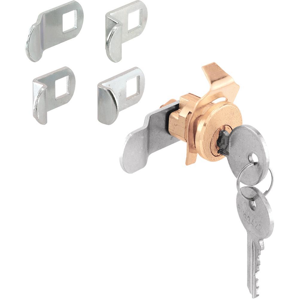 Brass 5-Cam Mailbox Lock