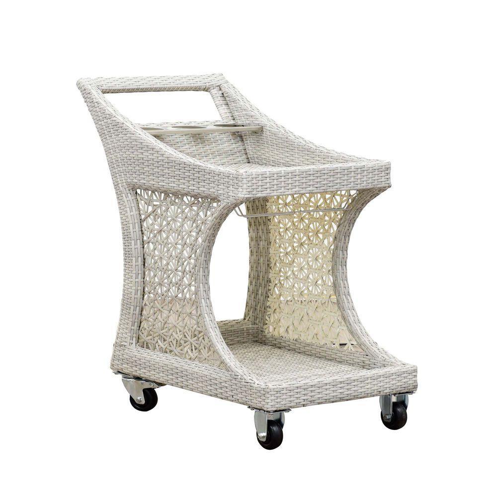 Sunjoy Dynasty Patio Serving Cart 110210003 The Home Depot