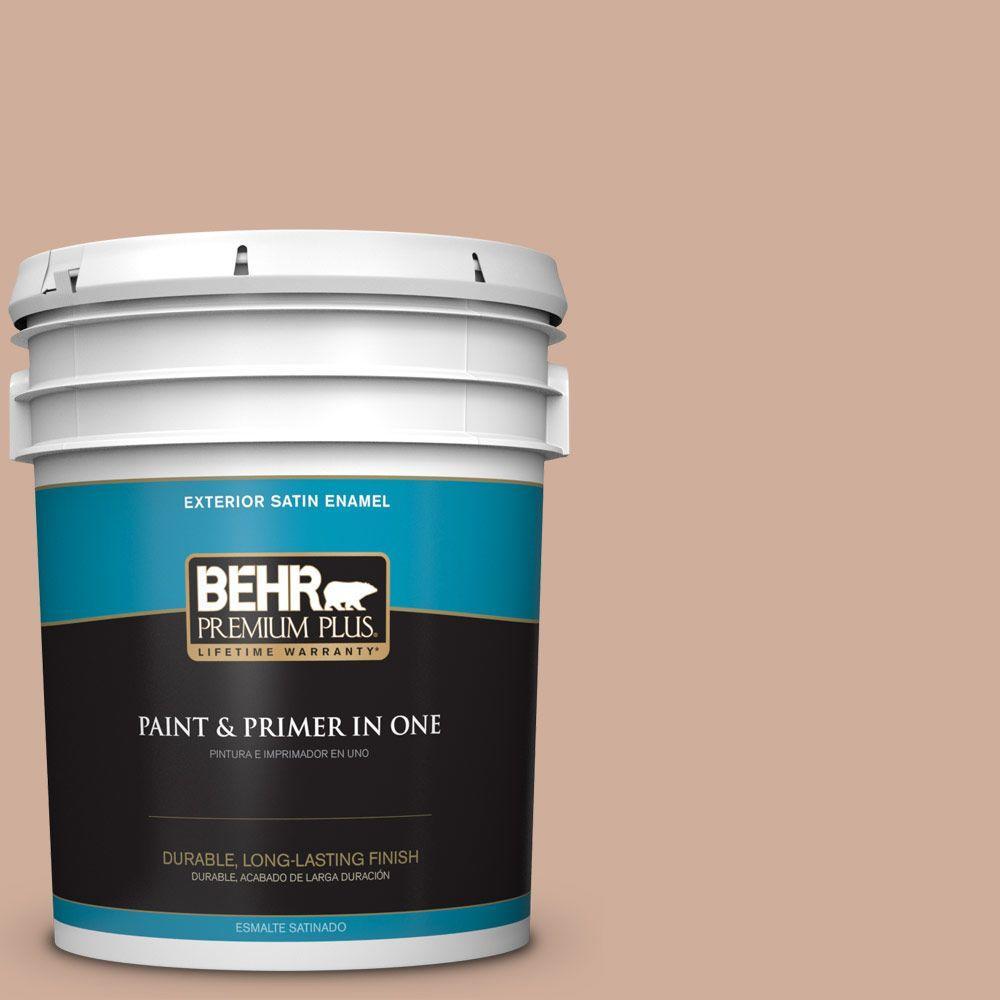 5-gal. #S200-3 Iced Copper Satin Enamel Exterior Paint