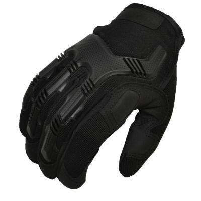 Zulal Impex Tyrex Military Special Force Tactical Large Covert Black Gloves