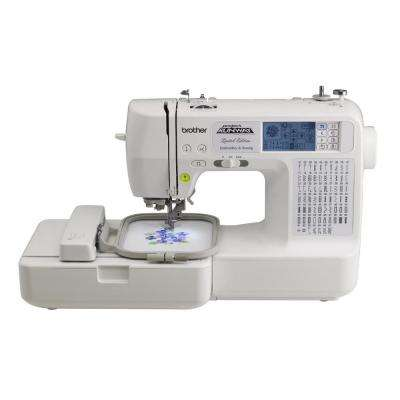 Sewing and Embroidery Machine With Rolling Bag