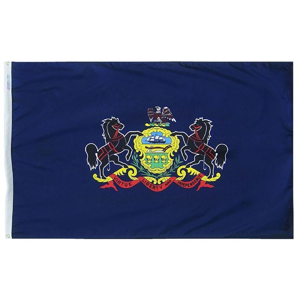 3 ft. x 5 ft. Pennsylvania State Flag