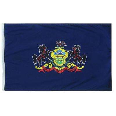3 ft. x 5 ft. Pennsylvania State Flag