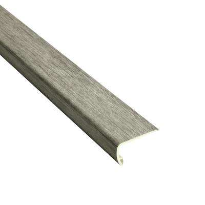 Klesko 5/32 in. Thick x 2-1/3 in. Wide x 94 in. Length Vinyl Stair Nose Molding