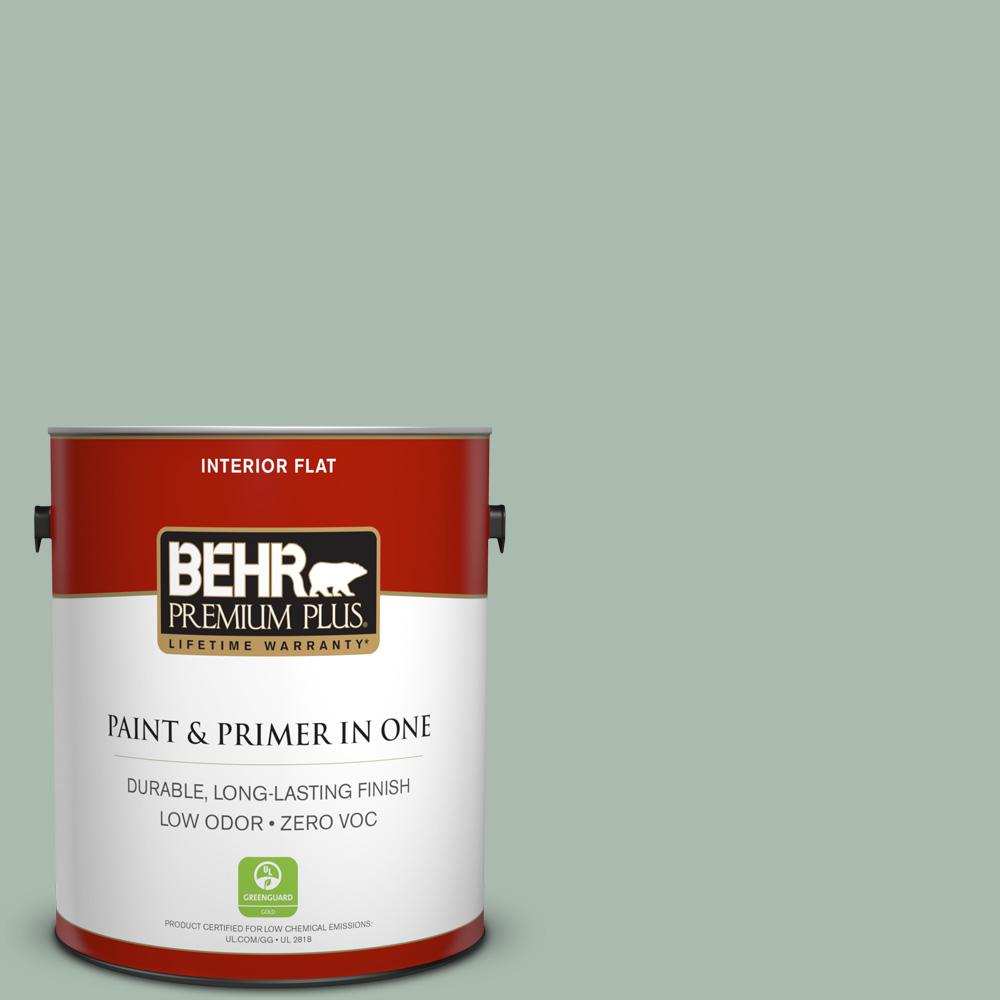 1 gal. #PPU11-14 Zen Zero VOC Flat Interior Paint