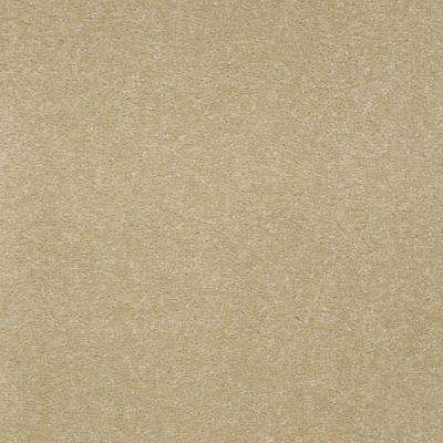 Carpet Sample-Enraptured I - Color Foxfire Suede Texture 8 in x 8 in